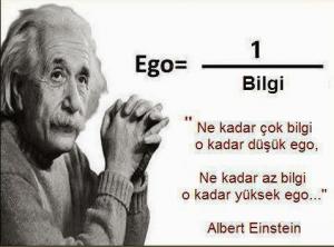 Albert Enstien Egoya bakışı