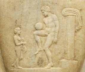 Milattan Önce Futbol Duvar Resimleri